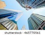 business buildings  chongqing ... | Shutterstock . vector #465770561