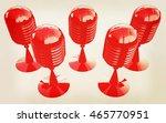 3d rendering of a microphones.... | Shutterstock . vector #465770951
