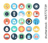 energy and power colored vector ... | Shutterstock .eps vector #465772739
