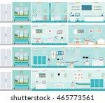medical hospital surgery... | Shutterstock .eps vector #465773561