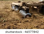 Part Ot Agricultural Tractor...