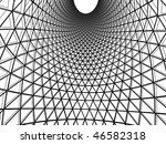abstract sketch in monochrome... | Shutterstock .eps vector #46582318
