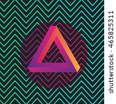 abstract seamless pattern... | Shutterstock .eps vector #465825311