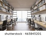 office of big company in new... | Shutterstock . vector #465845201