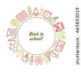 vector school background....   Shutterstock .eps vector #465853019