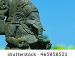 Statue Of Hindu God  Ganesha.