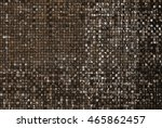 bright abstract mosaic brown... | Shutterstock . vector #465862457