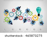 vector business people to the... | Shutterstock .eps vector #465873275