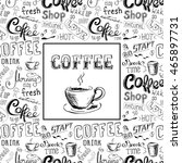 Doodle Coffee Frame Or...