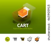 cart color icon  vector symbol...