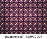 elegant 3d pattern. front view .... | Shutterstock . vector #465917009
