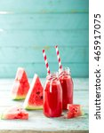 watermelon drink | Shutterstock . vector #465917075