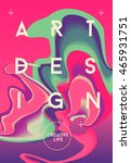 Color Abstract Poster. Creativ...