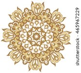 oriental vector pattern with... | Shutterstock .eps vector #465967229