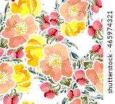 abstract elegance seamless... | Shutterstock . vector #465974321