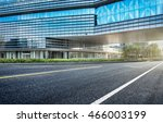 city empty traffic road with... | Shutterstock . vector #466003199