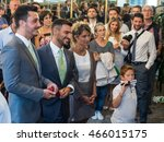 milano  august 5  2016  the... | Shutterstock . vector #466015175