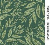 raster seamless grunge floral... | Shutterstock . vector #46601551