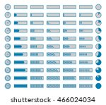 progress bars  preloaders... | Shutterstock .eps vector #466024034