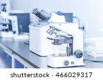 laboratory microscope  in a lab | Shutterstock . vector #466029317