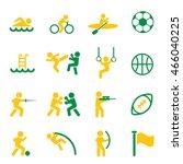 sport icon  | Shutterstock .eps vector #466040225