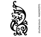 tattoo tribal vector designs.... | Shutterstock .eps vector #466040591