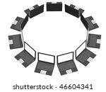 laptops | Shutterstock . vector #46604341