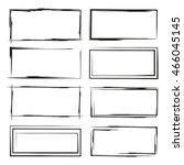 blank grunge frame set | Shutterstock .eps vector #466045145