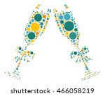 cheers shape vector design by... | Shutterstock .eps vector #466058219