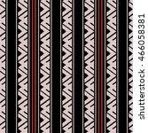 ikat seamless pattern design... | Shutterstock .eps vector #466058381