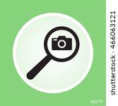 search foto camera vector icon | Shutterstock .eps vector #466063121