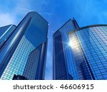 modern office buildings | Shutterstock . vector #46606915