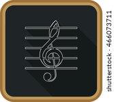 musical symbol. | Shutterstock .eps vector #466073711