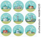 mega set of icons for your... | Shutterstock .eps vector #466084235