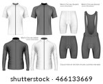 collection of cycling clothes... | Shutterstock .eps vector #466133669