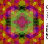 kaleidoscopic low poly triangle ...   Shutterstock .eps vector #466137191