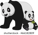 funny exotic animals | Shutterstock .eps vector #466182809