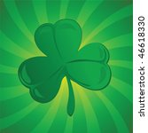 clover or shamrock suitable for ... | Shutterstock .eps vector #46618330