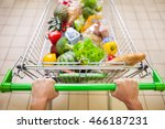 man with trolley full of...