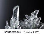 crystal quartz mineral stone... | Shutterstock . vector #466191494
