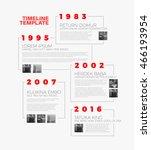vector infographic typographic... | Shutterstock .eps vector #466193954