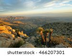 mojave desert from inspiration... | Shutterstock . vector #466207301