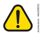 attention sign | Shutterstock .eps vector #466208501