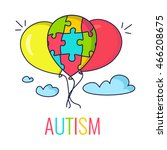 autism awareness poster with...