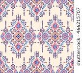 vector tribal aztec mexican... | Shutterstock .eps vector #466215707
