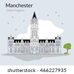 vector illustration of the... | Shutterstock .eps vector #466227935