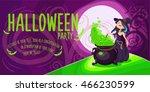 vector halloween poster...
