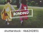 bonding friendship party people ... | Shutterstock . vector #466242851