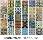 collage of different colors... | Shutterstock . vector #466273754