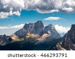 the beautiful mountain at... | Shutterstock . vector #466293791